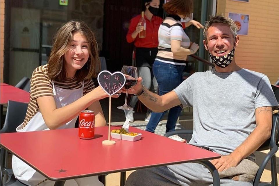 Алексей Панин с дочкой Нюсей переехал в Испанию. Фото: Инстаграм.