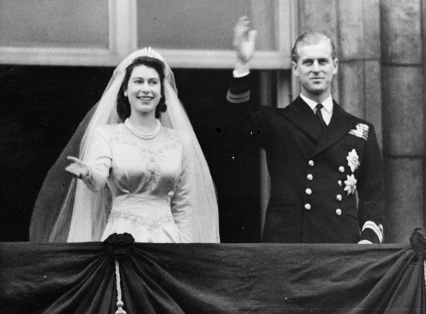 День свадьбы Елизаветы и Филиппа