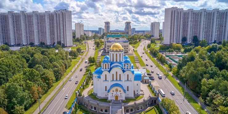 Храм Покрова Пресвятой Богородицы в Ясеневе