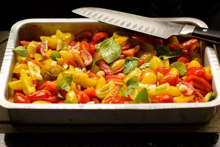 заправки можно использовать не только для салатов, но и для гарниров