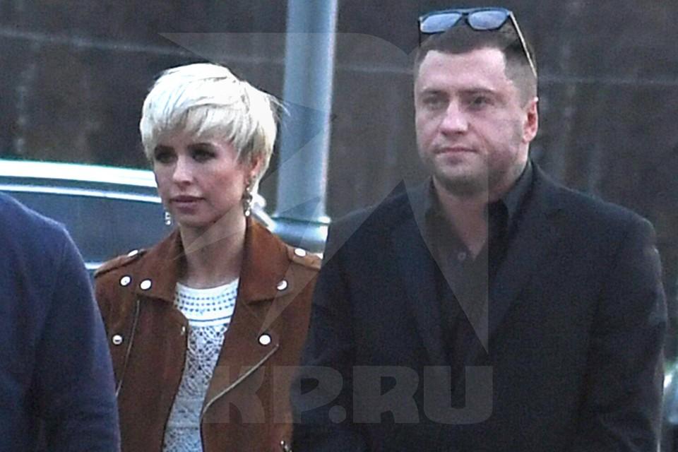 Павел Прилучный и Мирослава Карпович перед премьерой фильма