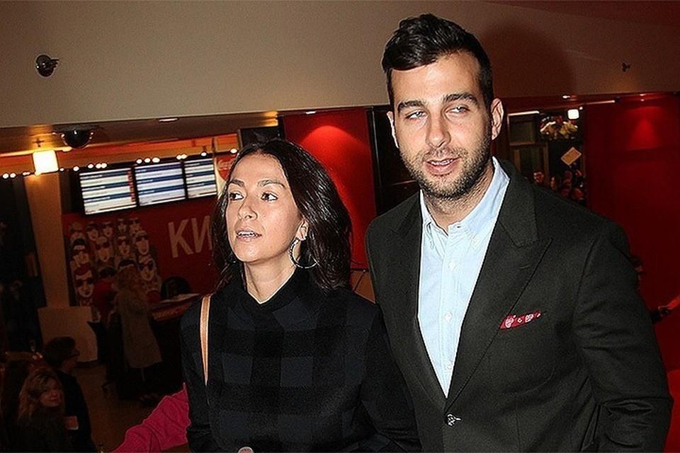 Иван Ургант с женой Натальей Кикнадзе.