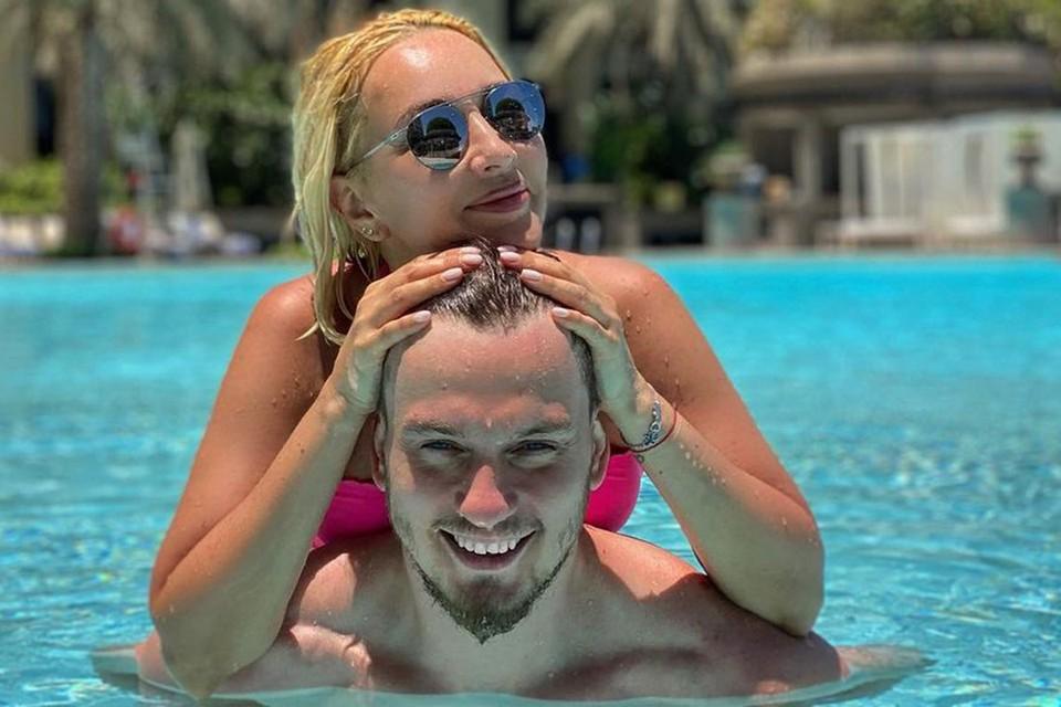 Лера Кудрявцева с мужем Игорем Макаровым.