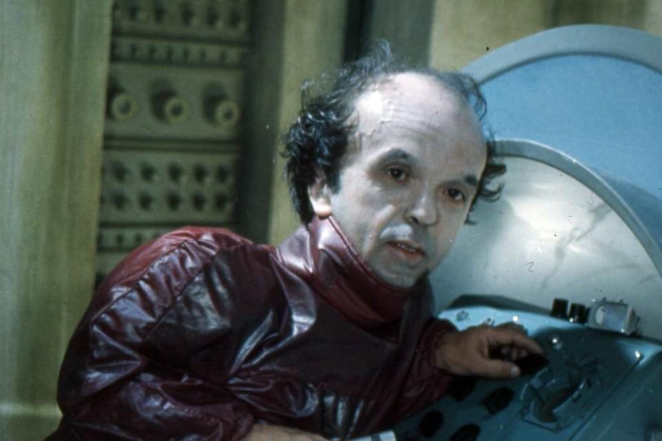 Владимир Федоров в роли магната Туранчокса с планеты Десса из фильма «Через тернии к звездам»