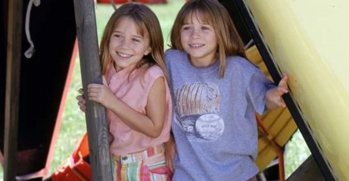 сестры Олсен стали известны в очень раннем возрасте