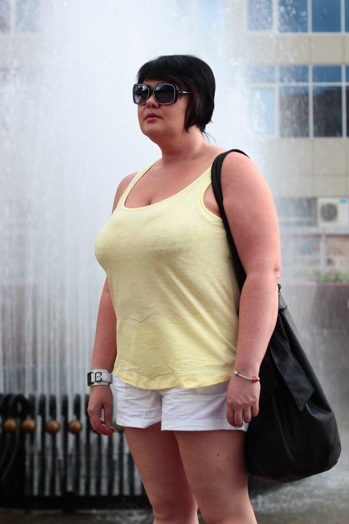 Психолог Марина Фокина до похудения.