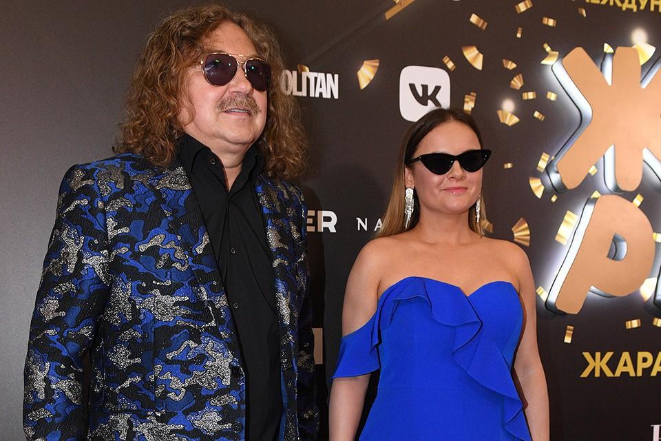 Юлия Проскурякова и Игорь Николаев на фестивале