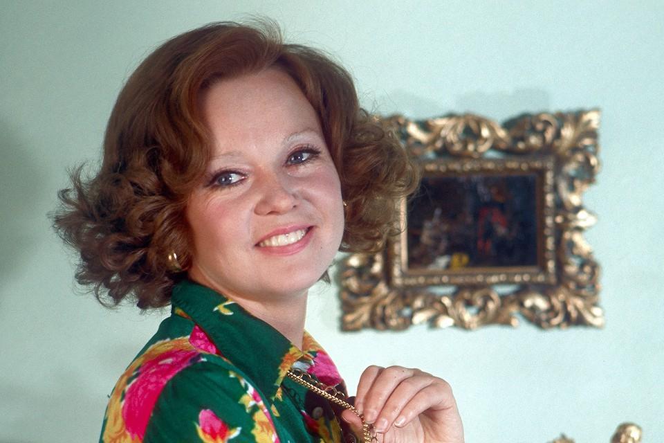 Актриса Людмила Гурченко в 1973 г.