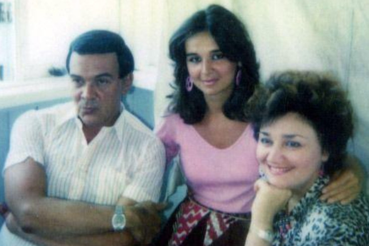 Марина поселилась в Америке с мужем и сыном Алланом