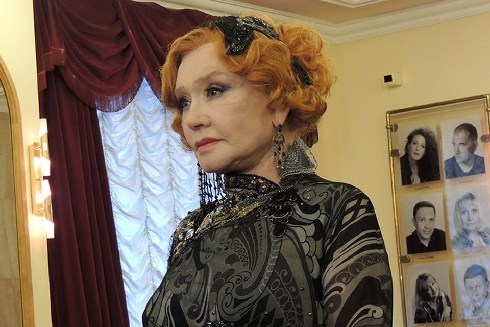 Актриса Вера Алентова.
