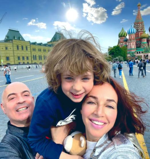 Грушевский и Евгения поженились шесть лет назад, у пары растет сын Михаил