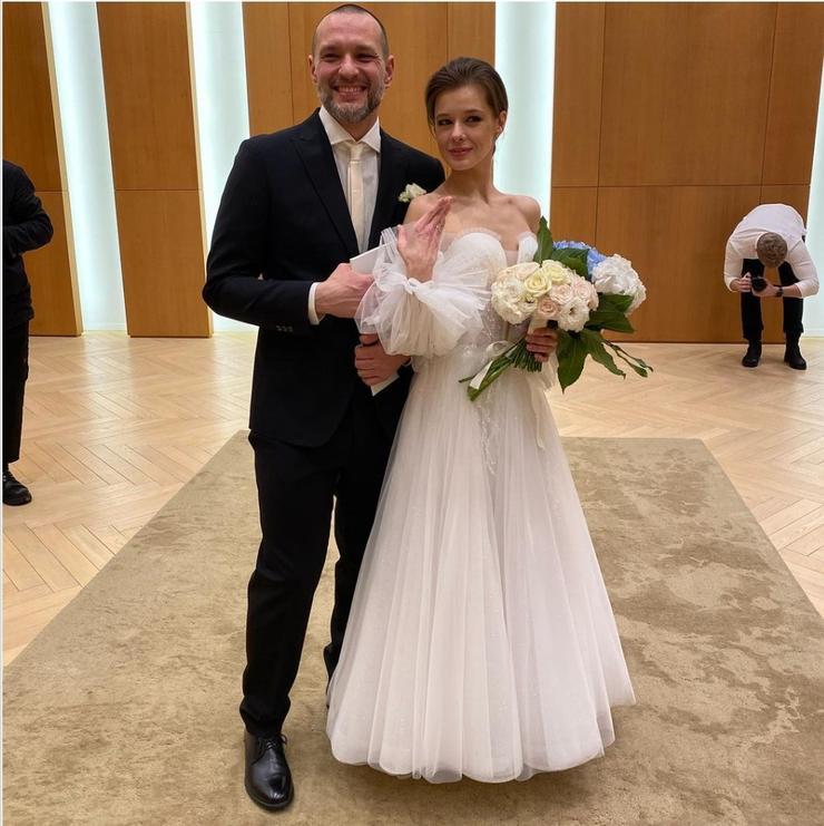 Актриса вышла замуж в феврале этого года