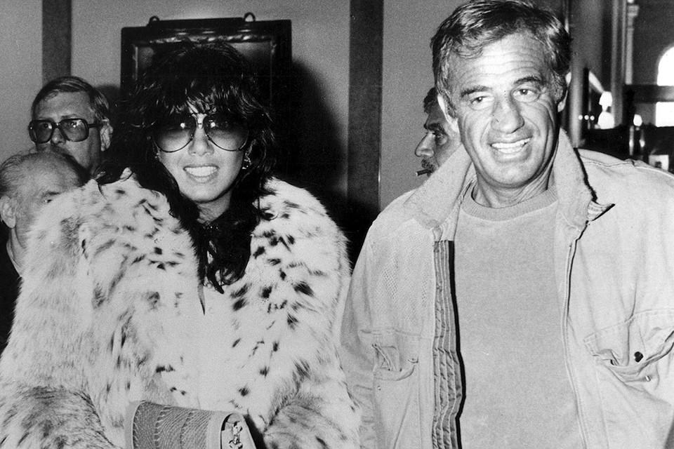 Жан-Поль Бельмондо и Мария Карлос Сотомайор в 1980 г.
