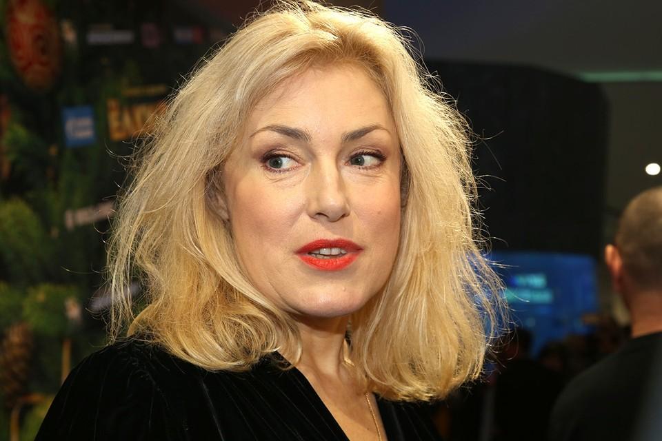 Актриса Мария Шукшина.