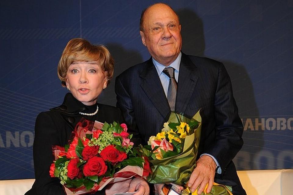 Вера Алентова с мужем Владимиром Меньшовым.